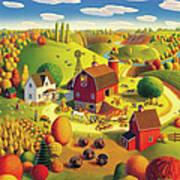 Harvest Bounty Art Print
