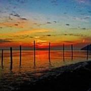 Haverstraw Bay Sunrise Art Print