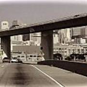 Heading Into The Busy Part Of San Francisco Art Print