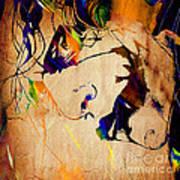 Heath Ledger The Joker Collection Art Print