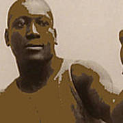 Heavyweight Boxing Champion Jack Johnson C.1910 Art Print