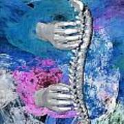 Heealing Touch Art Print