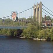 Hennepin Bridge Art Print