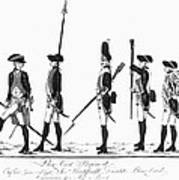 Hessian Soldiers Art Print