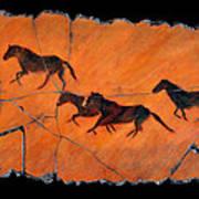High Desert Horses Art Print