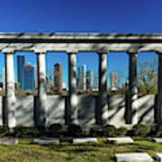 High Rise Buildings In Houston Art Print