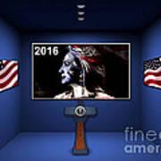 Hillary 2016 Art Print by Marvin Blaine