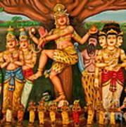 Hindu God Art Print by Niphon Chanthana