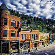 Historic Deadwood Art Print