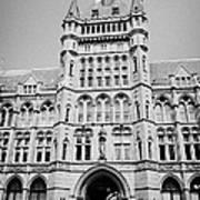 holborn bars former headquarters of the prudential assurance London England UK Art Print