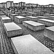 Holocaust Memorial - Berlin Art Print