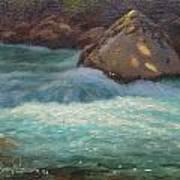 Holyford Water Art Print