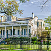 Home On St. Charles Ave - Nola Art Print