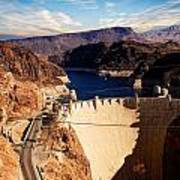 Hoover Dam Nevada Art Print