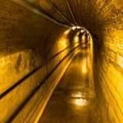 Hoover Dam Tunnel Art Print