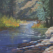 Horse Creek Art Print