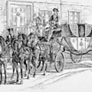 Horse-drawn Coach Art Print