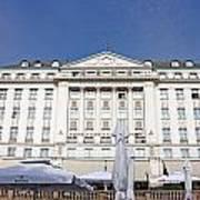 Hotel Esplanade Zagreb Art Print