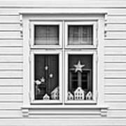 Houses And Windows Art Print