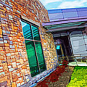 Howard County Library - Miller Branch Art Print