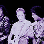 Humble Pie - On To Victory Tour At The Cow Palace S F 5-16-80 Art Print