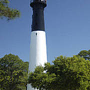 Hunting Island Lighthouse Sc Art Print