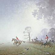 Hunting Scene Art Print by Ninetta Butterworth