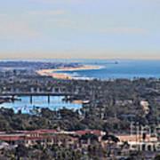 Huntington Beach View Art Print