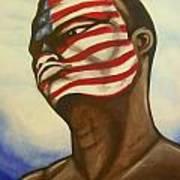 I Am American Art Print