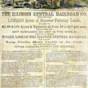 Illinois Railroad Company Art Print