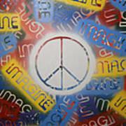 Imagine Peace Art Print