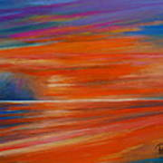 Impression Sunset 02 Art Print