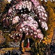 In A Shoreham Garden Art Print