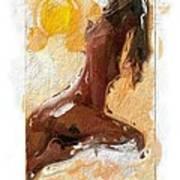 In The Heat Of The Sun Art Print