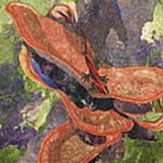 In The Rain Forest Art Print by Lynda K Boardman