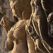 India. Ellora. Ellora Caves. Ellora Art Print