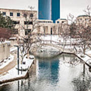 Indianapolis Canal Art Print