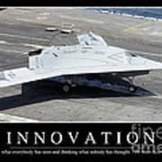 Innovation Inspirational Quote Art Print