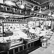 inside lonsdale quay market shopping mall north Vancouver BC Canada Art Print