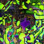 Interstate 10- Exit 259- 22nd St/ Star Pass Blvd Underpass- Rectangle Remix Art Print