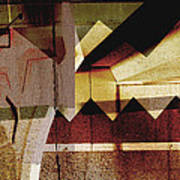 Interstate 10- Exit 259a- 29th St / Silverlake Rd Underpass- Rectangle Remix Art Print