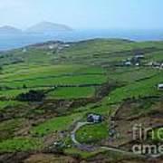 Irish Coast Art Print