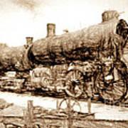Iron Horse Boneyard Art Print