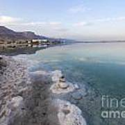 Israel Dead Sea Art Print