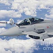 Italian Air Force Eurofighter Typhoon Art Print