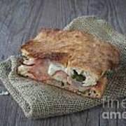 Italian Sandwich Print by Sabino Parente