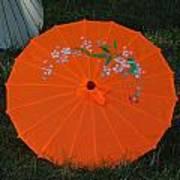 Japanese Umbrella Art Print