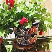 Jardines Art Print