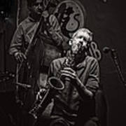Jazz Passion Art Print