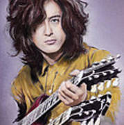 Jimmy Page 1 Art Print